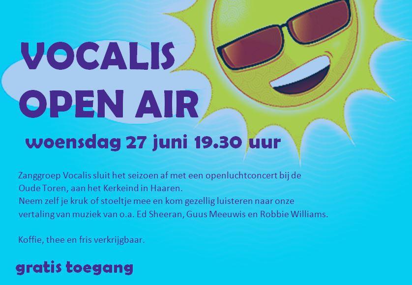 Vocalis OPEN AIR 27 juni