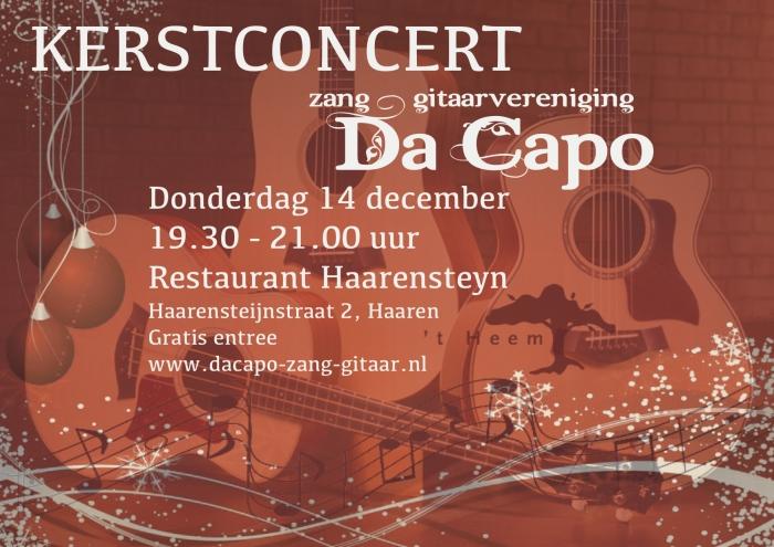 Kerstconcert Dacapo
