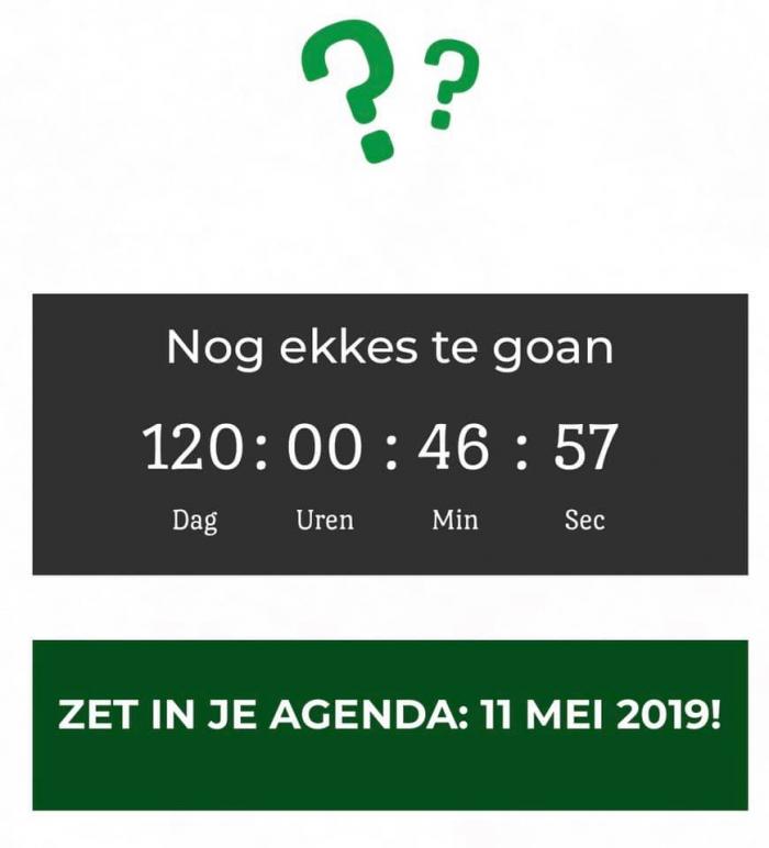 Nog 120 dagen!